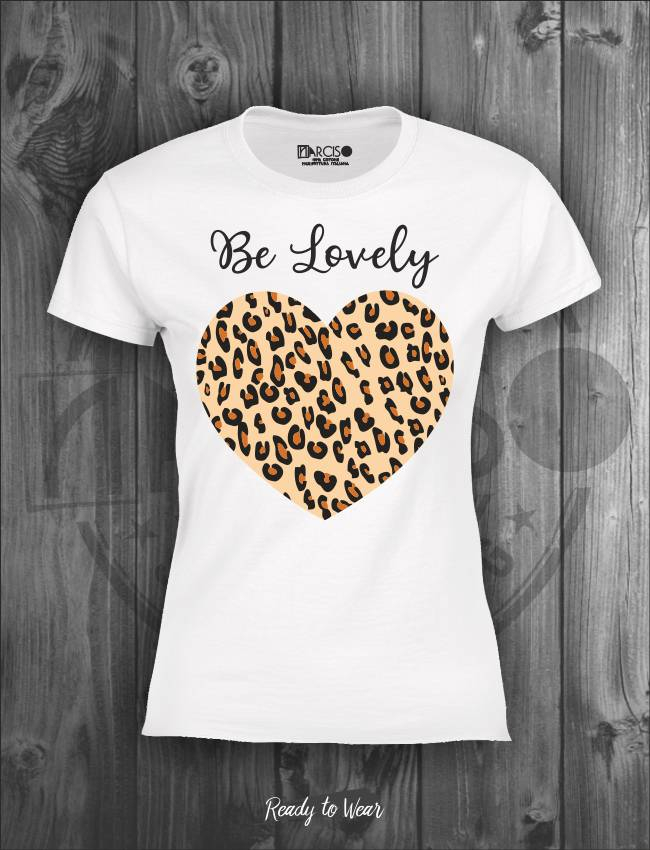 T-shirt manica corta Be Lovely Narciso.