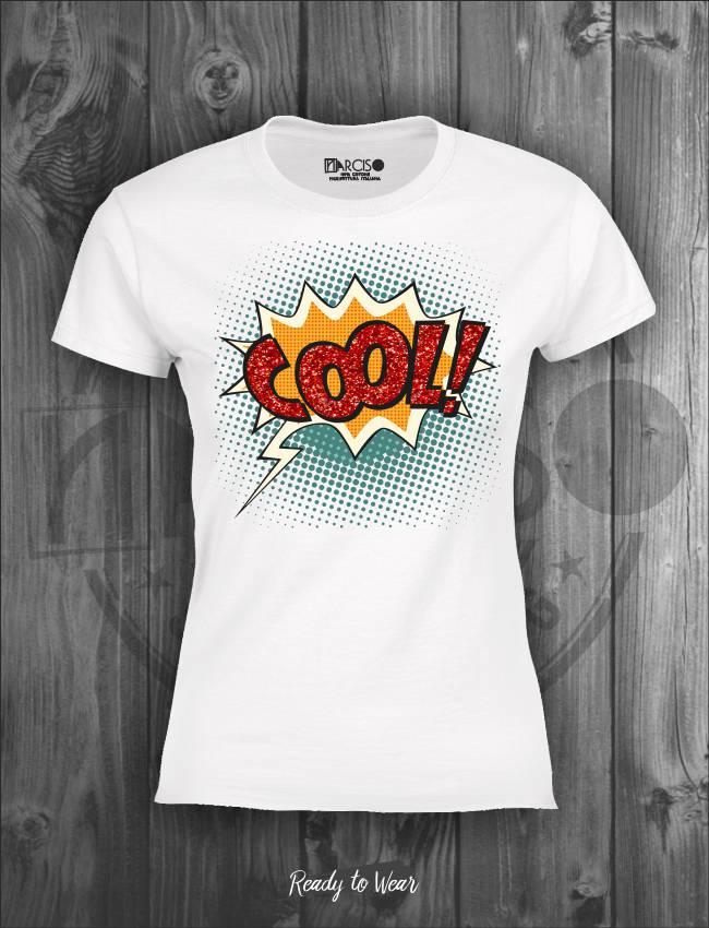 T-shirt manica corta Cool Narciso.