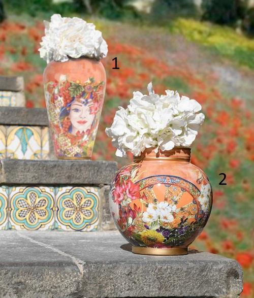 Baci Milano Vaso cm.24 Vas2.Mil01 foto n.2 (fiori esclusi)