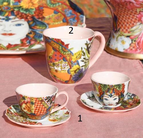 Baci Milano 2 Tazze Caffè Cof.Mil01 foto n.1