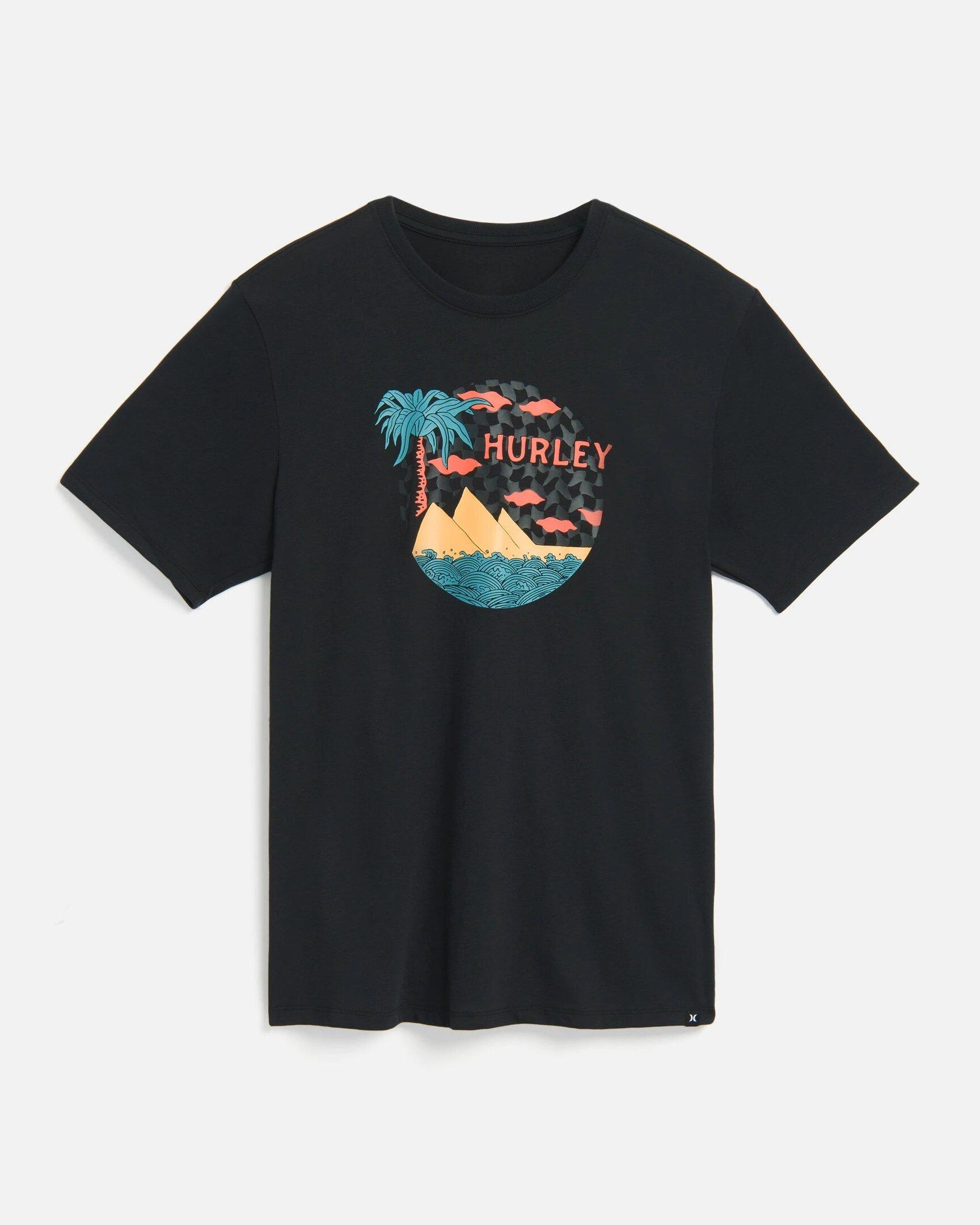 T-Shirt Hurley Tripper Palm