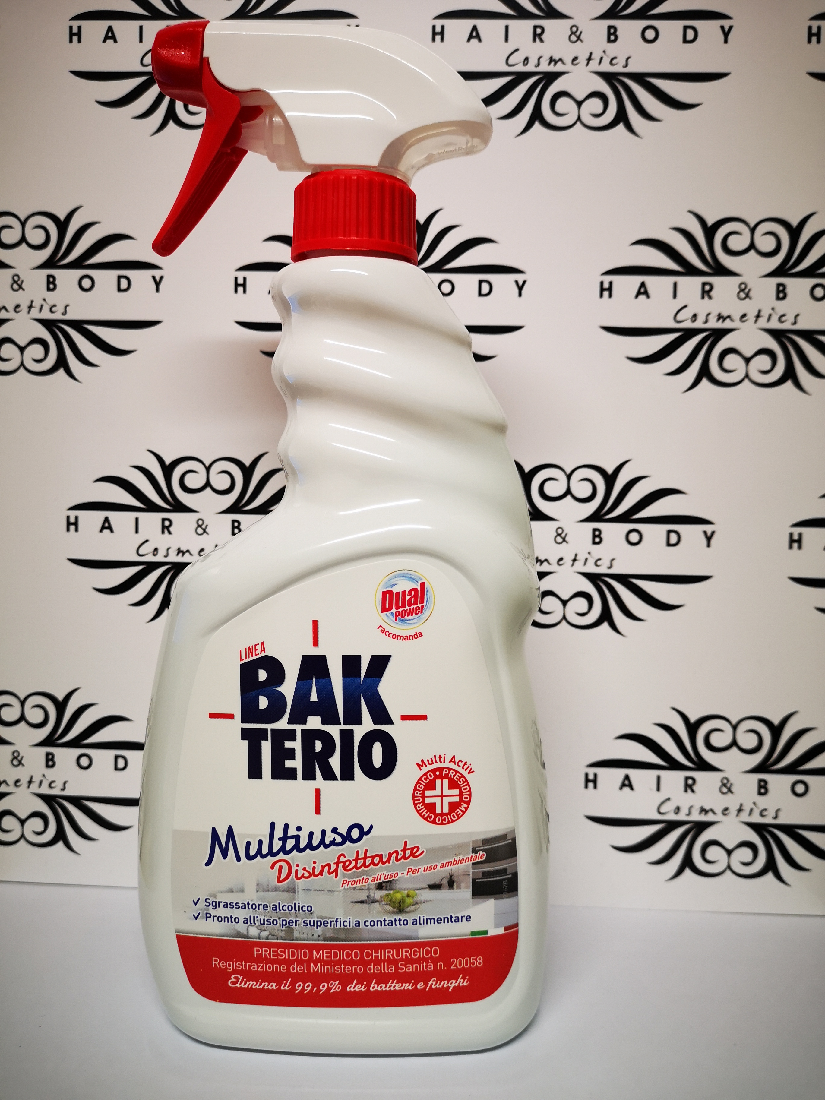 BAKTERIO Multiuso Disinfettante 750ml