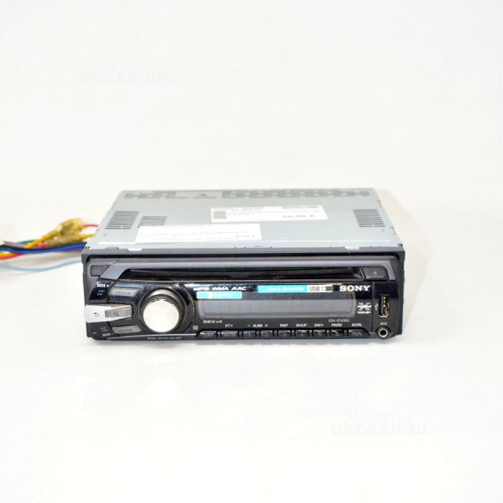 Autoradio Sony Con Lettore Cd USB E AUX