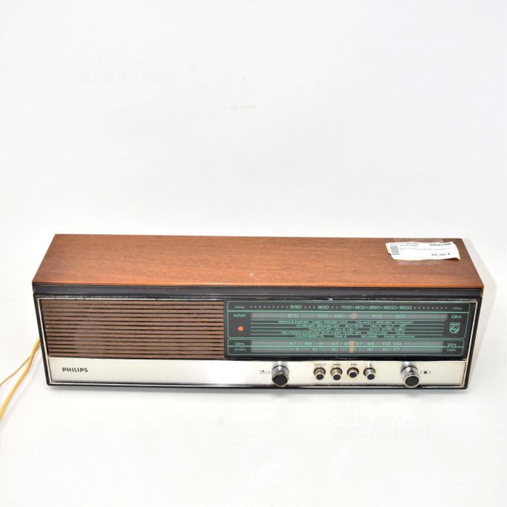 Radio Philips 19 RB 344 FUNZIONANTE