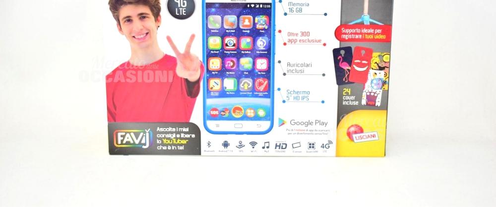 Gioco Mio Phone 6-12 Anni Con Cavo, Selfie Stick E Istruzioni