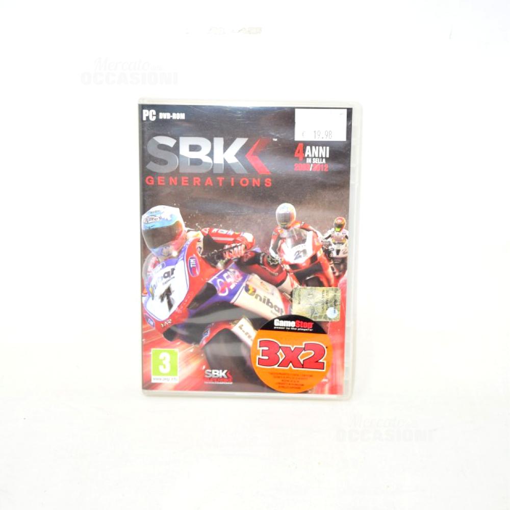 Gioco Per Pc SBK Generation 2009/2012