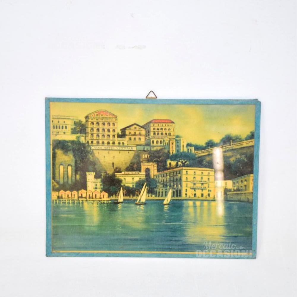 Quadretto Vintage Grand Hotel Vittoria