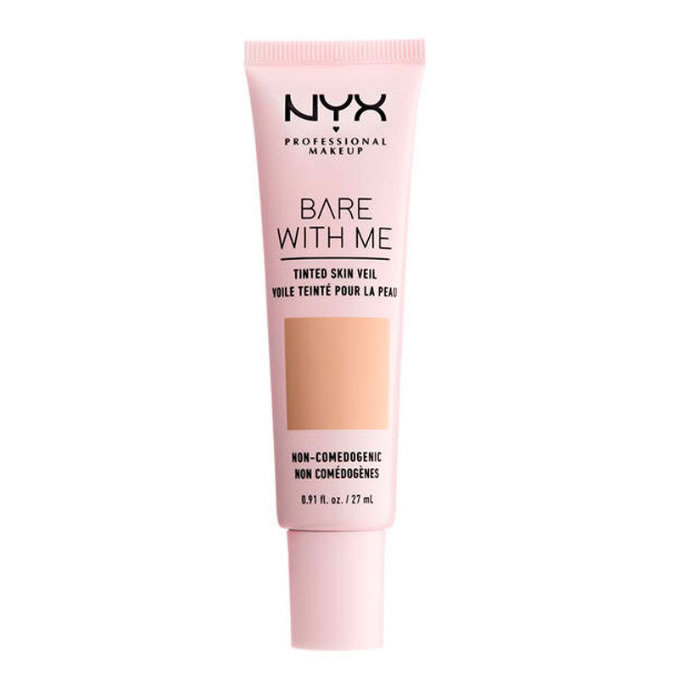 Nyx Bare With Me Tinted Skin Veil Natural Soft Beige 27ml