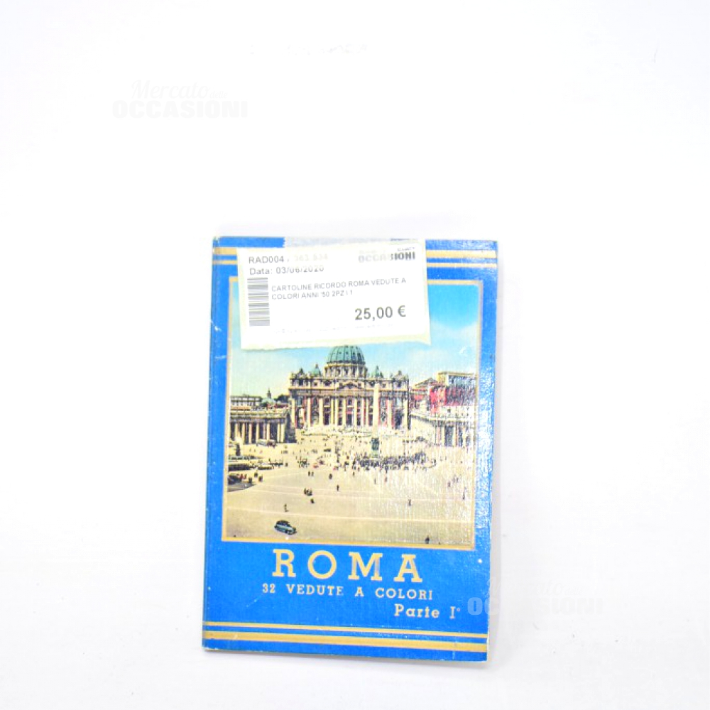 Cartoline Ricordo Venezia Anni'50