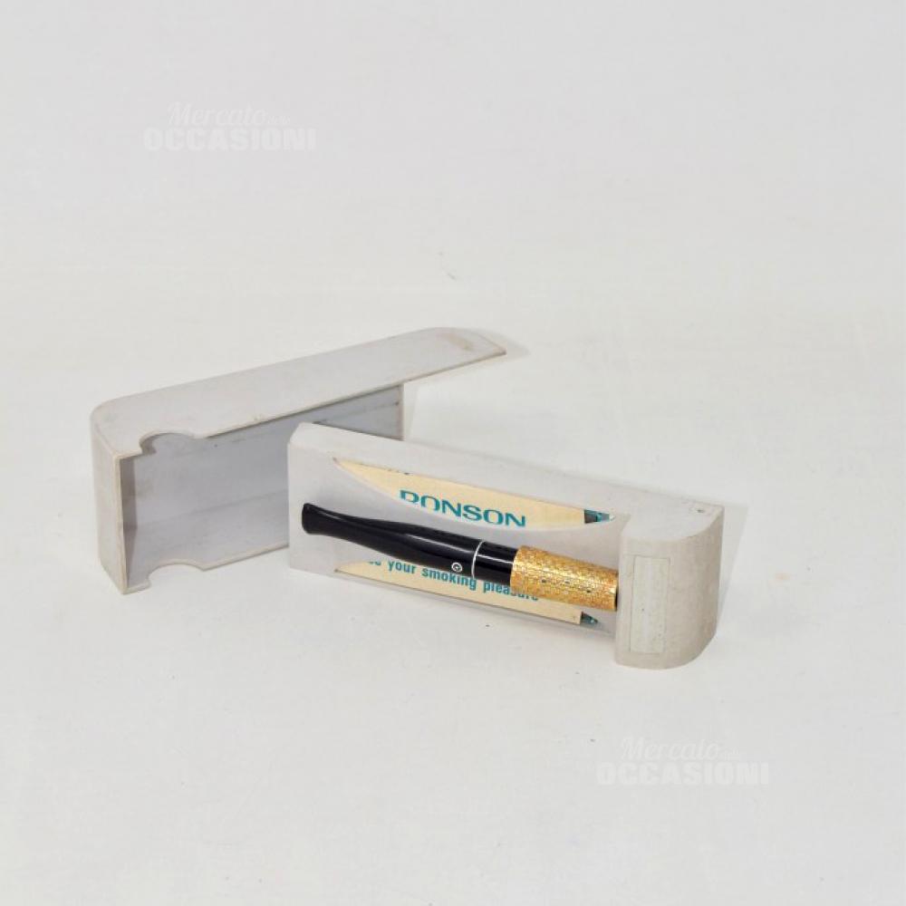 Bocchino Per Sigarette Ronson Con Istruzioni