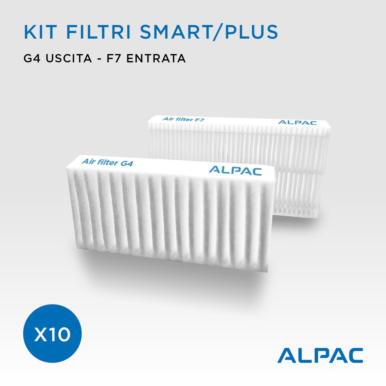 Kit ricambio filtri per Alpac VMC Smart e Plus x30 - CONF. PROMO - Climapac VMC Smart e Plus