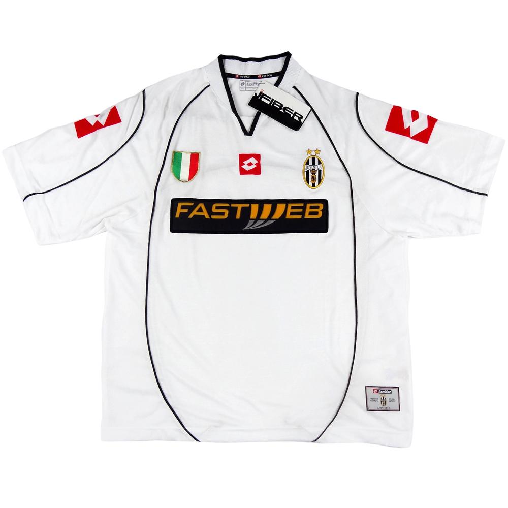 2002-03 Juventus Maglia away XXL *Nuova