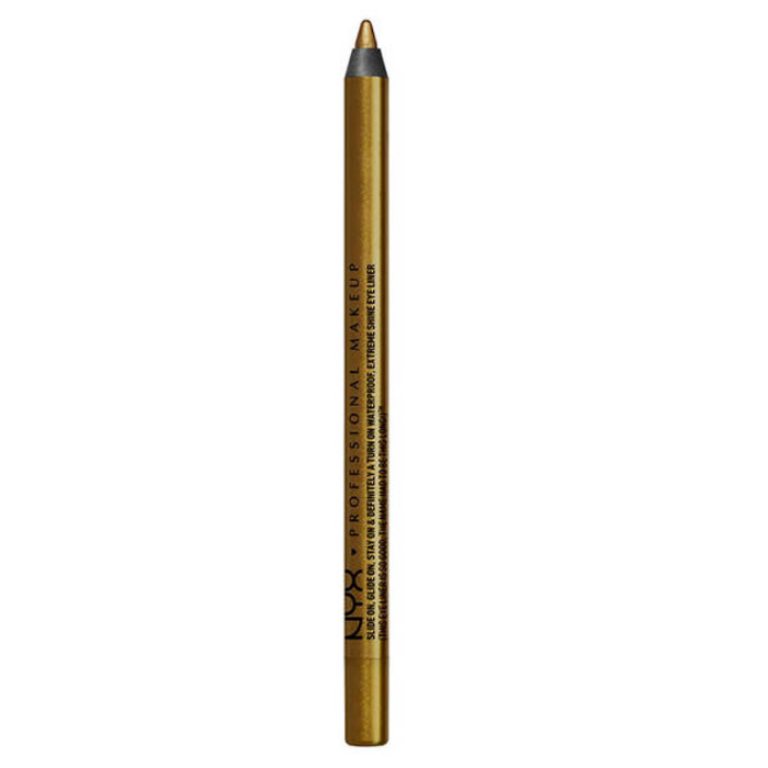 Nyx Slide On Pencil Waterproof Extreme Shine Eyeliner Golden Olive