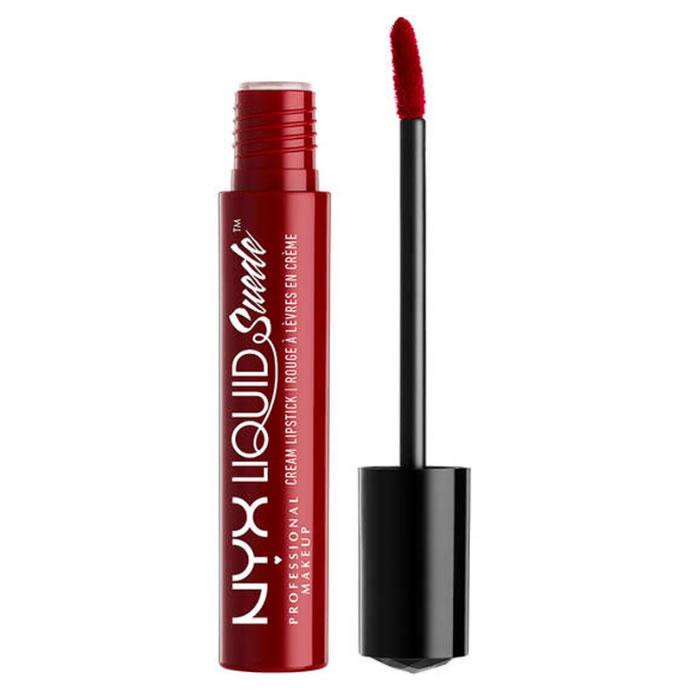 Nyx Liquid Suede Cream Lipstick Cherry Skies 4ml