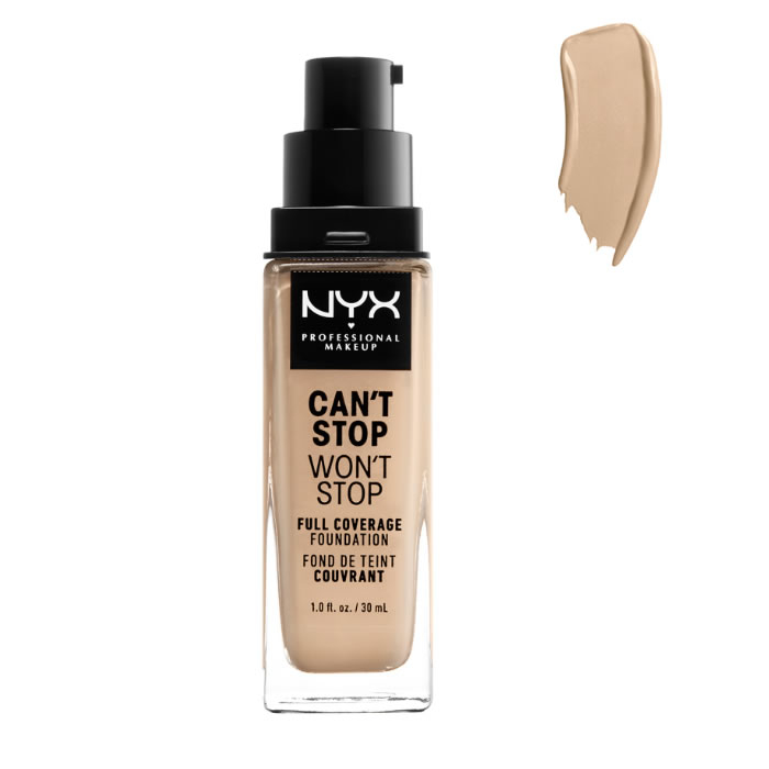 Nyx Can´t Stop Won´t Stop Full Coverage Foundation Warm Vanilla 30ml