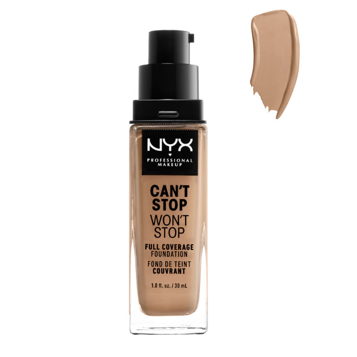 Nyx Can´t Stop Won´t Stop Full Coverage Foundation Classic Tan 30ml
