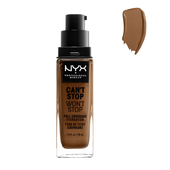 Nyx Can´t Stop Won´t Stop Full Coverage Foundation Sienna 30ml