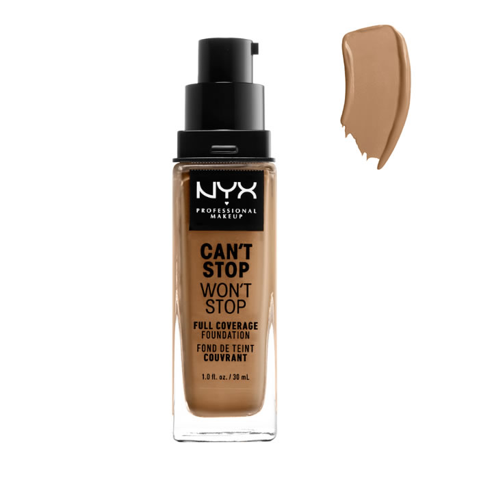 Nyx Can´t Stop Won´t Stop Full Coverage Foundation Golden 30ml