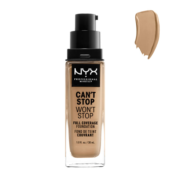 Nyx Can´t Stop Won´t Stop Full Coverage Foundation Beige 30ml