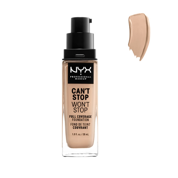 Nyx Can´t Stop Won´t Stop Full Coverage Foundation Vanilla 30ml