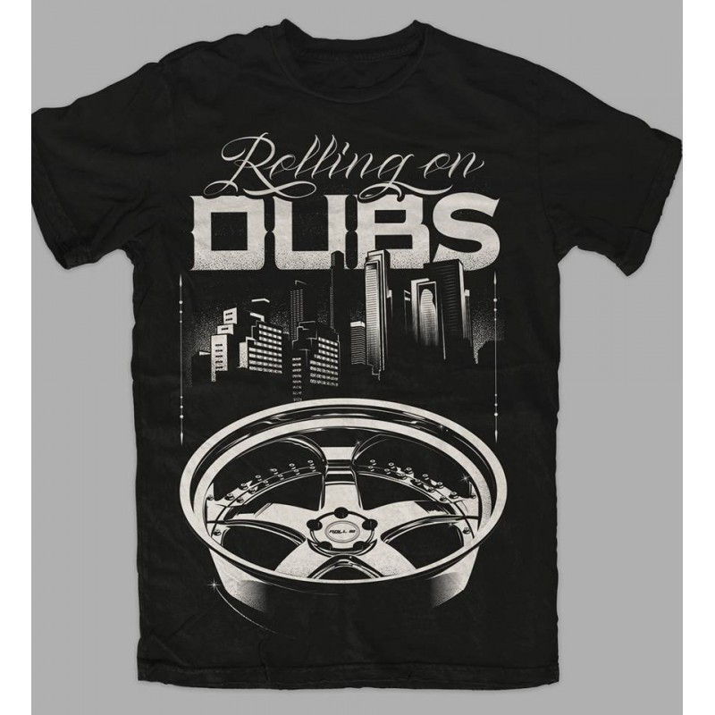 T-Shirt DUBS for man - Nero