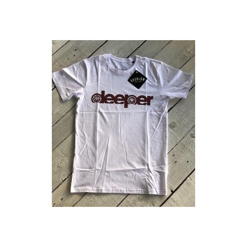 T-Shirt DEEPER for man - Bianca e Nera