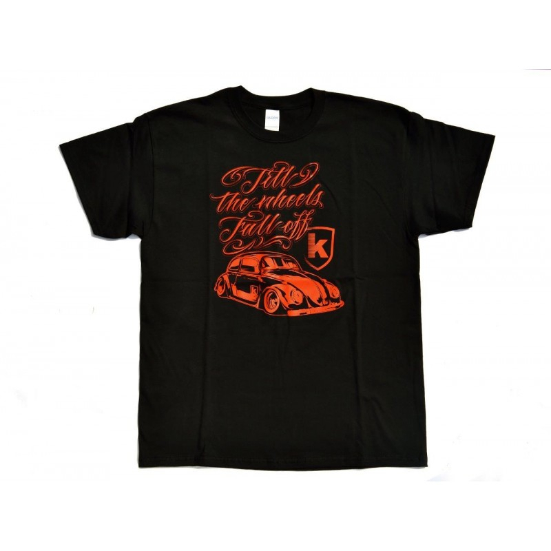 T-Shirt KAFER for man - Nero/Rosso