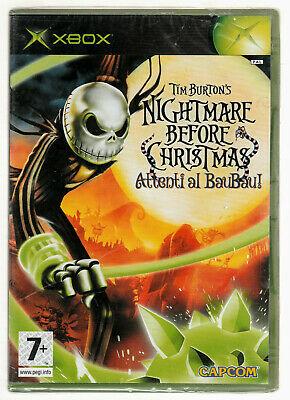 Xbox: Tim Burton'S Nightmare Before Christmas: Attenti al Baubab