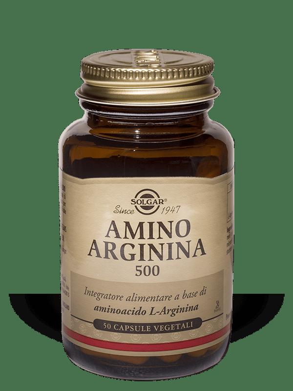 Solgar Amino Arginina 500 50 Capsule vegetali