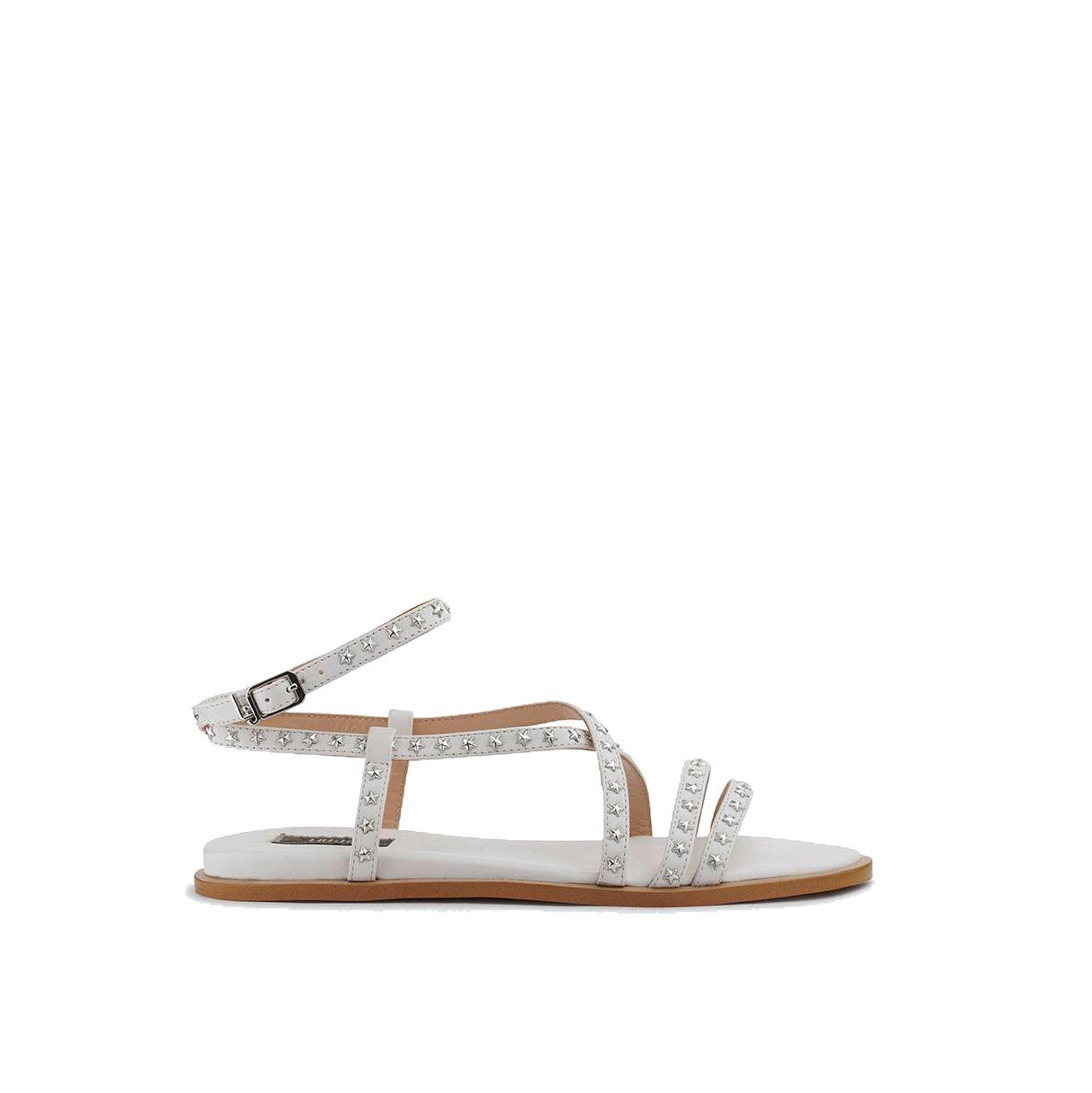 Thea sandals pelle bianca - LIU JO