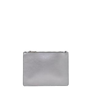Pochette tracolla grande pelle silver - PATRIZIA PEPE