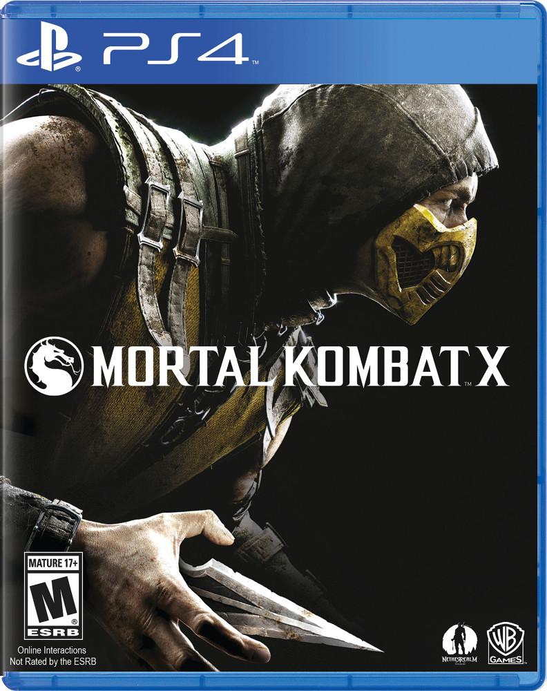 Ps4: Mortal Kombat X
