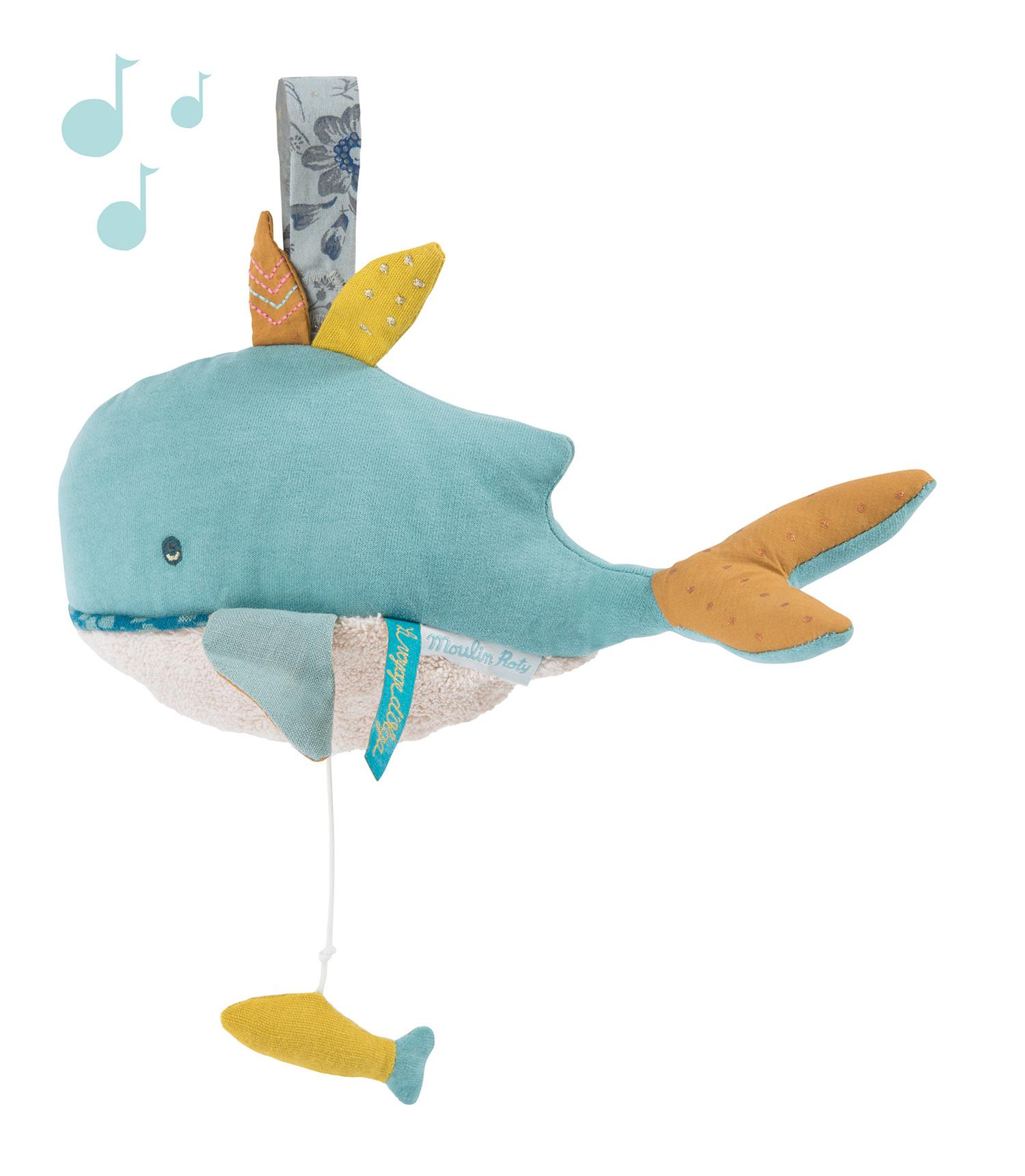 Balena musicale cm28 di Moulin Roty