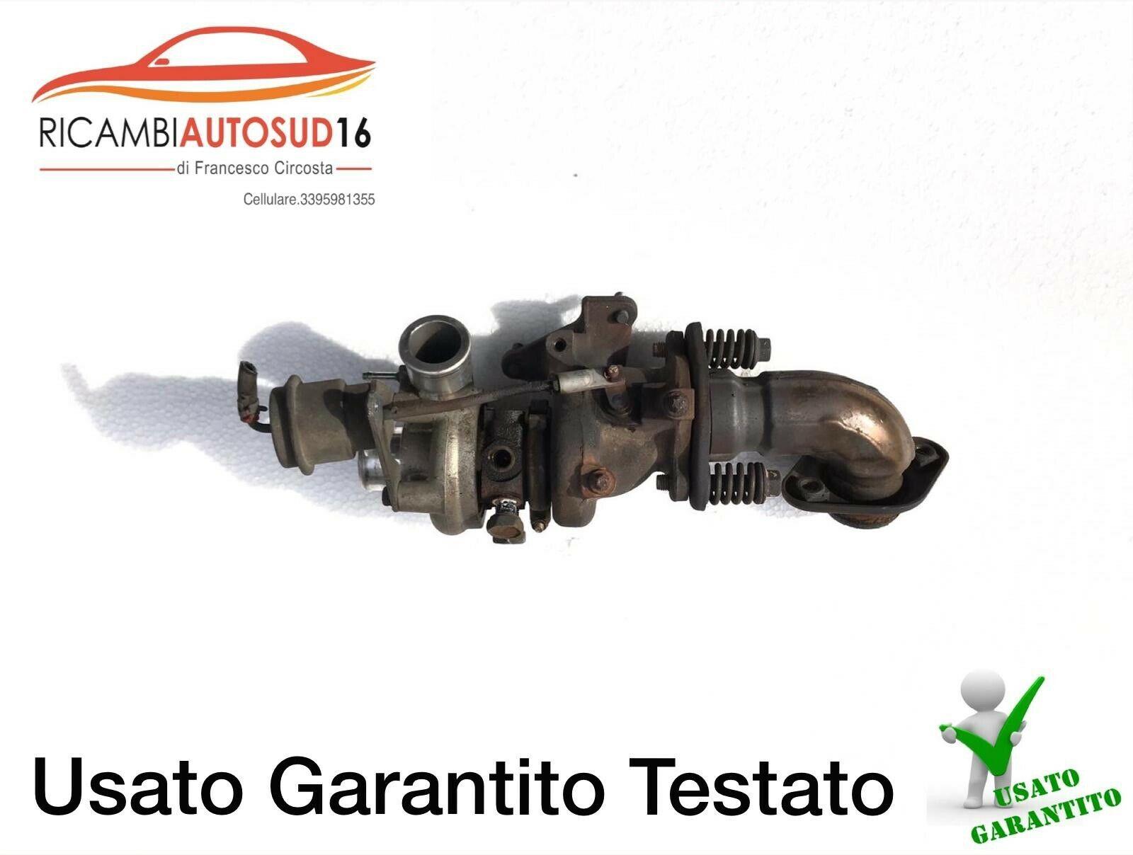 Turbo Turbina Smart Brabus 1,0 Turbo Codice 4917302010 Anno 2010 Originale