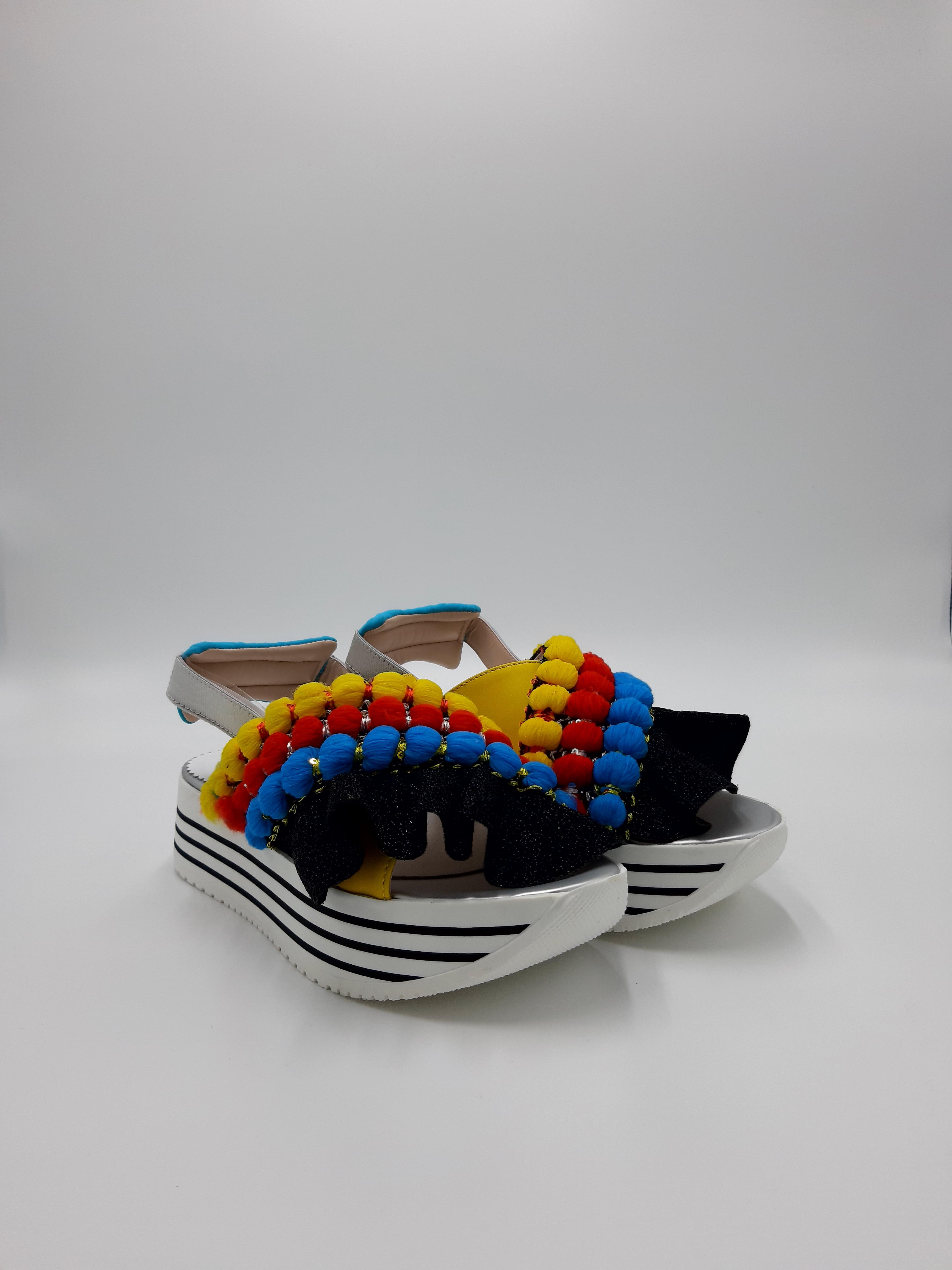 Sandalo platform L4K3.