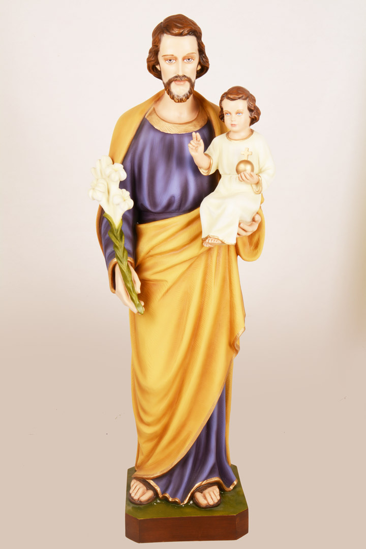 Statua S. Giuseppe h 100 DEC395/100