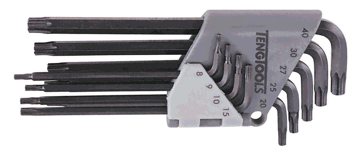 Serie di chiavi maschio piegate torx Teng Tools 1479TX