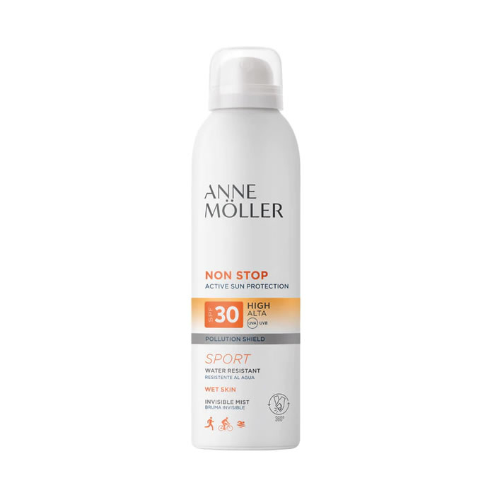 Anne Möller Non Stop  Sun Invisible Mist Spf30 Spray 200ml