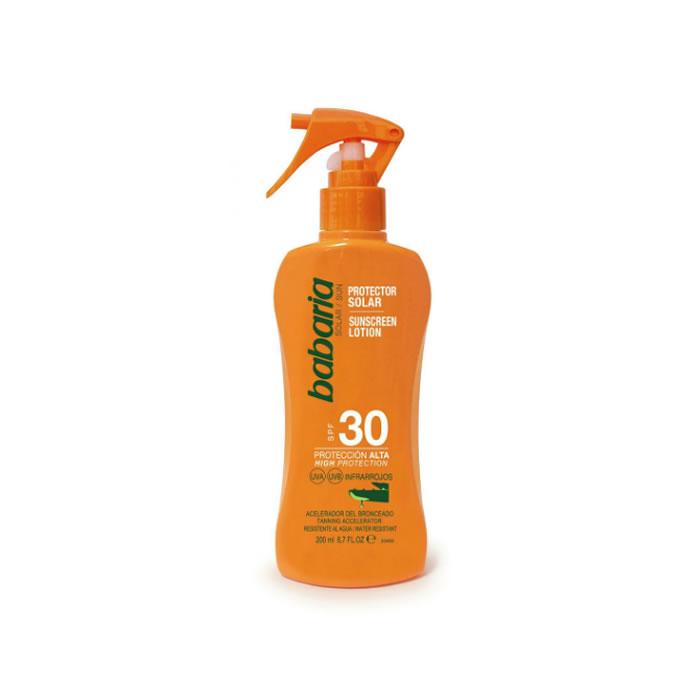Babaria Sunscreen Spray Spf30 200ml