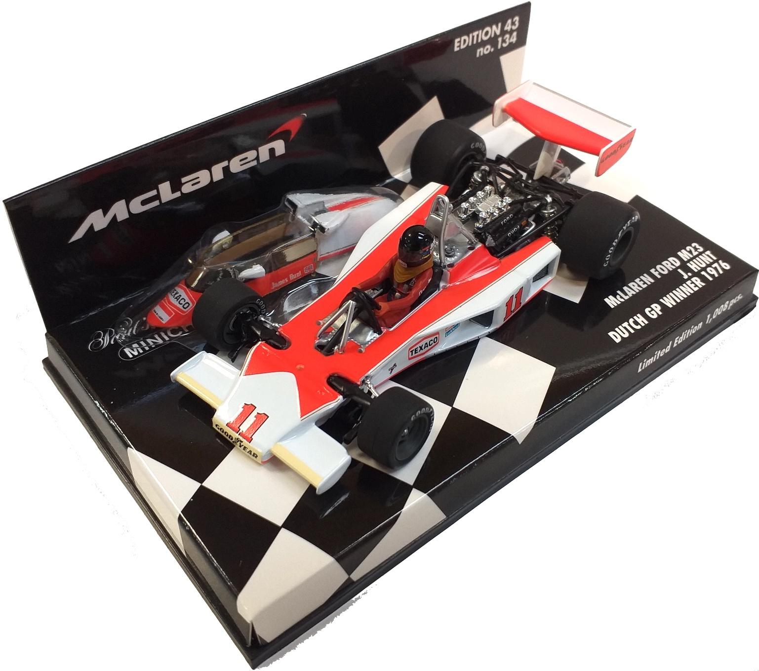 McLaren Ford M23 Dutch Gp Winner 1976 J. Hunt 1/43