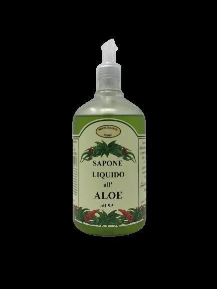 Sapone liquido all'aloe 500 ml
