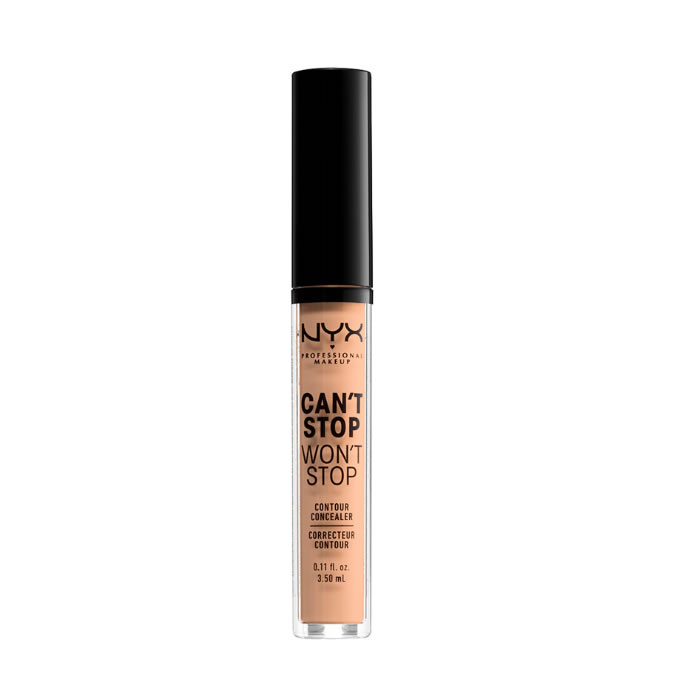 Nyx Can´t Stop Won´t Stop Full Coverage Contour Concealer Natural 3,5ml