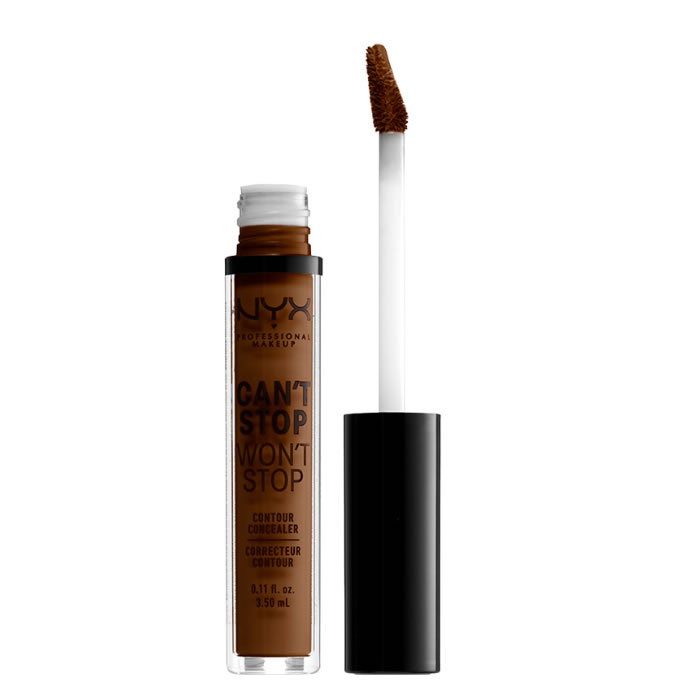 Nyx Can´t Stop Won´t Stop Full Coverage Contour Concealer Walnut 3,5ml