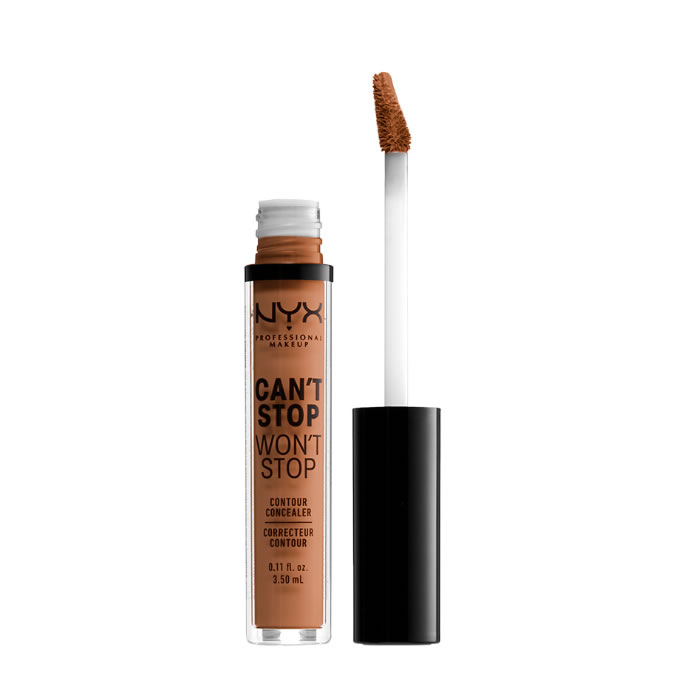 Nyx Can´t Stop Won´t Stop Full Coverage Contour Concealer Mahogany 3,5ml