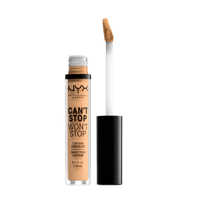 Nyx Can´t Stop Won´t Stop Full Coverage Contour Concealer True Beige 3,5ml