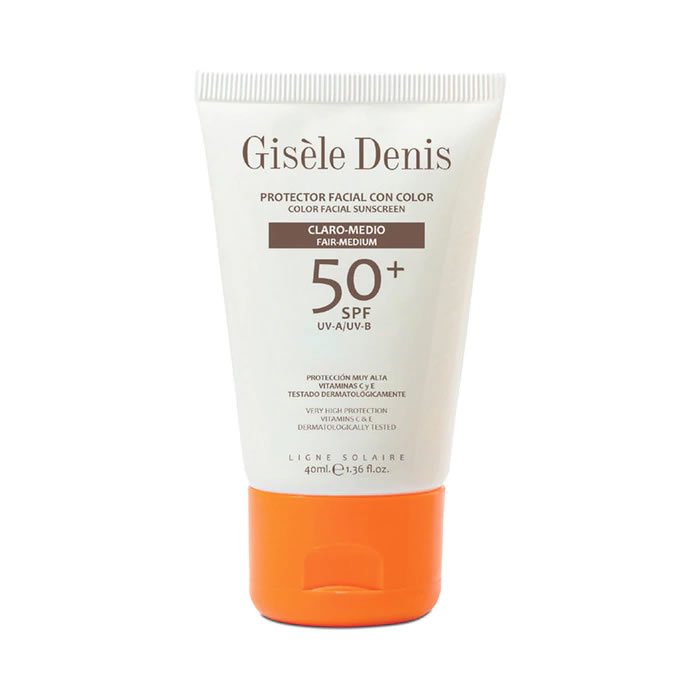 Gisèle Denis Color Facial Sunscreen Spf50+ Fair/Medium 40ml