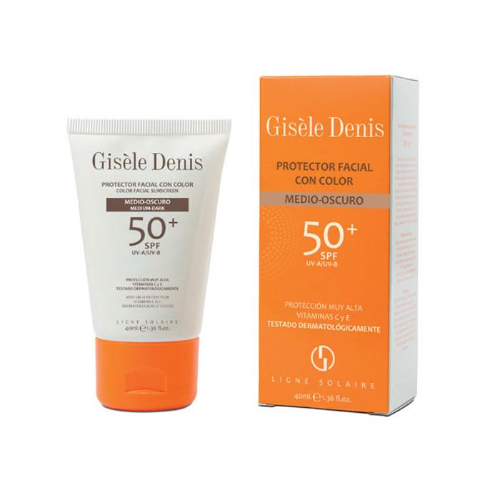 Gisèle Denis Color Facial Sunscreen Spf50+ Medium/Dark 40ml