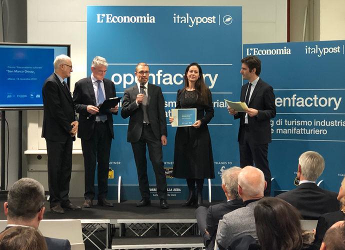 San Marco Group Premio Innovazione 4.0 Open Factory