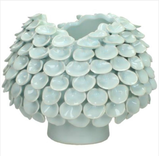 Vaso porcellana bianco