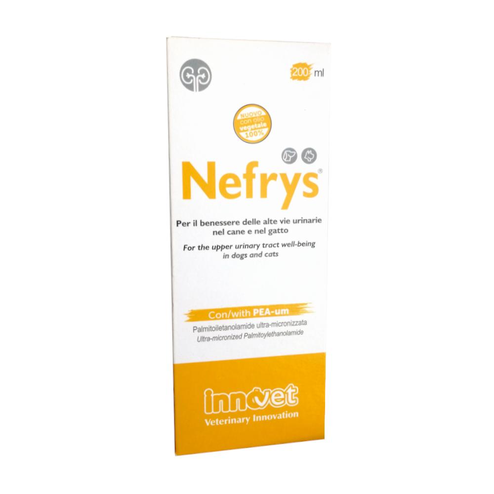 NEFRYS 200 ml - PROTEGGE LE ALTE VIE URINARIE DEL CANE E GATTO